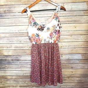 🌿American Rag Boho Floral Dress Size Small🌿